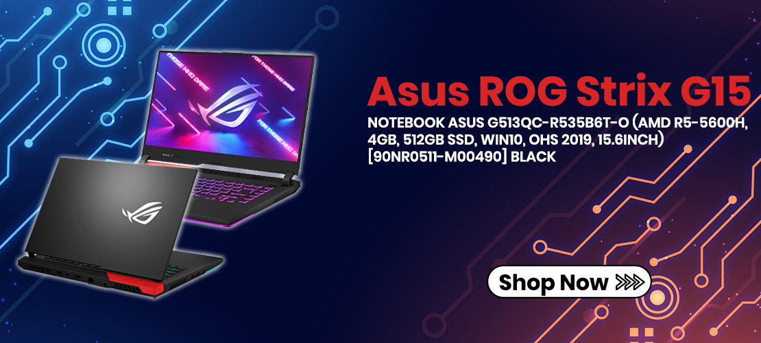 NOTEBOOK ASUS G513QC-R535B6T-O