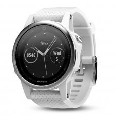fenix 5s Carrara GPS WatchSEA [010-01685-30] - White