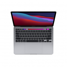 MACBOOK PRO (M1 CHIP WITH 8-CORE CPU AND GPU, 512GB SSD, 13INCH) [MYD92ID] SPACE GREY