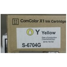 INK YELLOW COMCOLOR X1 INK CTD YELLOW/CC7110/7150 [S-6704G]