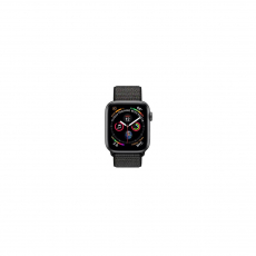 APPLE Watch Series 4 GPS, 44mm Space Gray Aluminum Case with Black Sport Loop [MU6E2ID/A]