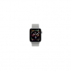APPLE Watch Series 4 GPS, 44mm Silver Aluminum Case with Seashell Sport Loop [MU6C2ID/A]