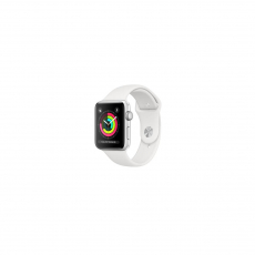 APPLE WATCH SERIES 3 GPS 38MM SILVERALUMINIUM CASE WITH WHITE SPORT BAND [MTEY2ID/A]