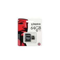 KINGSTON MICRO SDHC 64GB [SDC10G2/64GBFR]