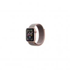 APPLE Watch Series 4 GPS, 40mm Gold Aluminum Case with Pink Sand Sport Loop [MU692ID/A]