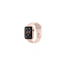 APPLE Watch Series 4 40mm Gold Aluminum Case with Pink Sand Sport Band [MU682ID/A]