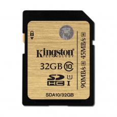 KINGSTON SDHC 32GB CLASS 10 [SDA10/32GB]