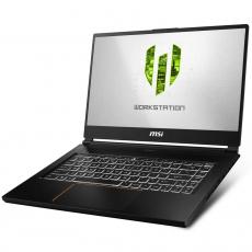 MSI WE65 9TJ (I7, 32GB, 1TB + 512GB SSD, NVIDIA 4GB, WIN10, 15.6IN) [9S7-16U222-017] BLACK
