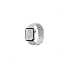 APPLE Watch Nike+ Series 4 GPS, 44mm Silver Aluminum Case with Summit White Nike Sport Loop [MU7H2ID/A]