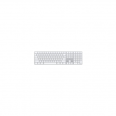 APPLE MAGIC KEYBOARD WITH NUMERIC KEYPAD SILVER [MQ052ID/A]