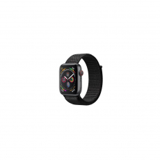 APPLE Watch Series 4 40mm Space Gray Aluminum Case with Black Sport Loop [MU672ID/A]