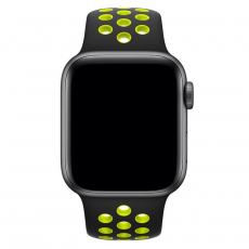 APPLE 44MM SPORT BAND S/M & M/L [MTMW2FE/A] BLACKVOLT NIKE