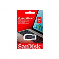 SANDISK CRUZER BLADE CZ50 64GB [SDCZ50-064G-B35]