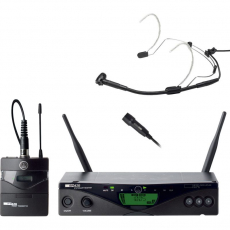 AKG HARMAN WIRELESS MICROPHONE SYSTEM 470 [WMS470 SPORTS SET]