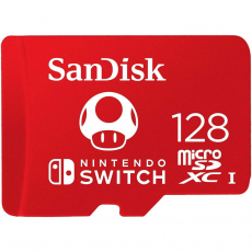 ANDISK AND NINTENDO SWITCH 128GB MICROSDXC MEMORY CARD [SDSQXAO-128G-GNCZN]