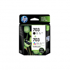 703 Clr/Blk Ink Cartridge PVP Pack [J3N04AA]