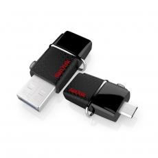 SANDISK DUAL DRIVE 128GB, OTG USB 3.0
