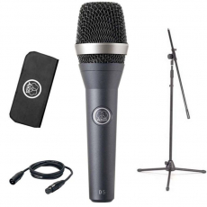 AKG D5 HANDHELD VOCAL MICROPHONE [D5] BLACK