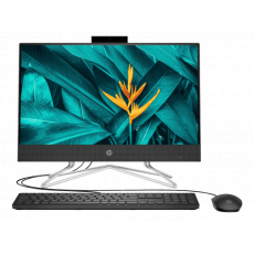 HP AIO 22-DF1004D (I3-1115G4, 4GB, 512GB SSD, WIN10+OHS 2019, 21.5INCH) [39Y24PA] BLACK