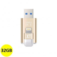 iPhone Flash Drive with USB 3.0 32GB [GT-003-32G-Gold] - Gold