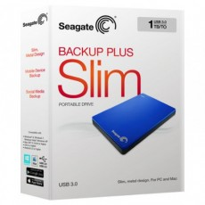 Backup Plus Slim Blue 1TB [STDR1000302]