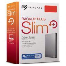 Backup Plus Slim Silver 1TB [STDR1000301]