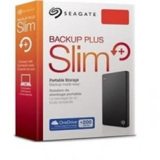 Backup Plus Slim Black 1TB [STDR1000300]