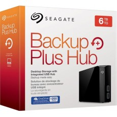 BACKUP PLUS HUB DESKTOP 6TB [STEL6000300] BLACK