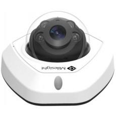 H.265 Vandal-proof Mini Dome Network Camera [MS-C5373-PB]